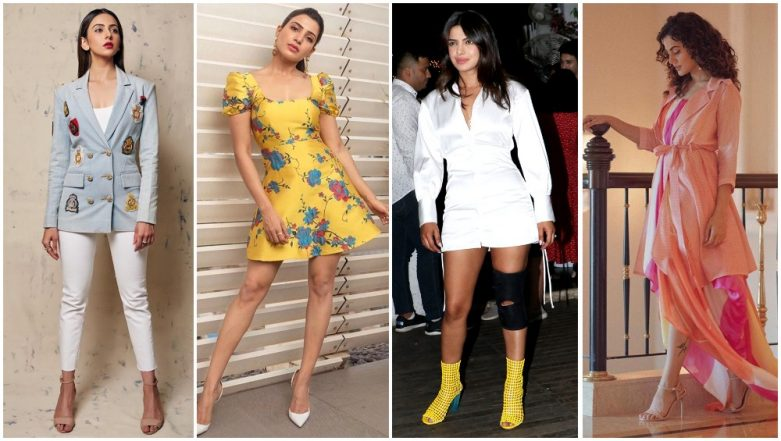 Priyanka Chopra, Samantha Ruth Prabhu and Taapsee Pannu Get a Standing Ovation for Their Impeccable Fashion Choices This Week (View Pics)