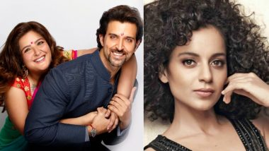 SHOCKING! Hrithik Roshan's Sister Sunaina Extends Her Support to Kangana Ranaut – Read Tweet