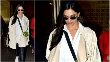 Deepika Padukone Returns to the Bay after Meeting her 'BAE' in London - View Pics