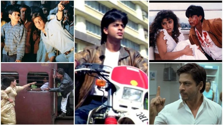 27 Years of Shah Rukh Khan: From Deewana to Zero, 27 Most Iconic Scenes in King Khan's Epic Career
