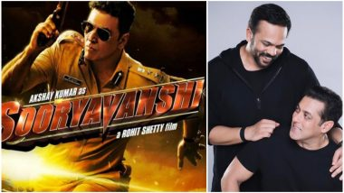 No Clash! Salman Khan Announces the New Release Date of Akshay Kumar's Sooryavanshi; Will Now Hit the Screens on March 27, 2020