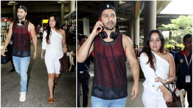Varun Dhawan and Natasha Dalal's Cool and Casual Airport Appearance is Perfect for this Monsoon Season - View Pics
