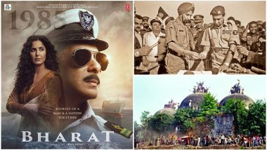 Bharat: 7 Landmark Events in Free India's History Salman Khan's Film Royally Ignores in Its 'Journey of Man and Nation Together' (SPOILER ALERT)