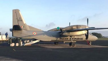 Missing IAF AN-32 Plane Had SOS Signal Unit That is Old and No Longer Produced