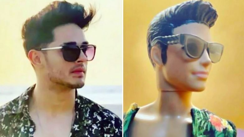 After Erica Fernandes, Hina Khan and Dipika Kakar, Now Priyank Sharma Gets Dolls Fashioned on His Looks (View Pics)