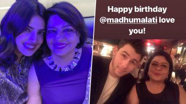 Priyanka Chopra and Nick Jonas Have the Sweetest Birthday Messages for Madhu Chopra