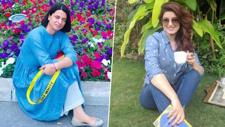 Kangana Ranaut's Sister Rangoli Chandel Takes a Dig at Twinkle Khanna, Says Use Organic Cloth Instead of Sanitary Napkins For Menstrual Hygiene
