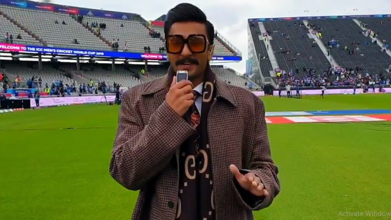 India vs Pakistan, CWC 2019 Match: Ranveer Singh's Interference During The Cricket Commentary Leaves Fans Annoyed!