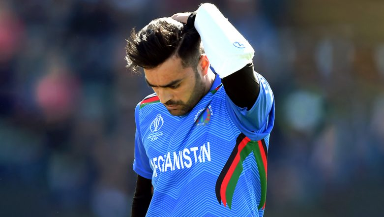 Comedy of Errors As Rashid Khan and Gulbadin Naib Miss Funny Run Out Chance During IND vs AFG CWC 2019 Match, Watch Video