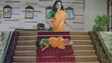 Renuka Shahane's Accident in HAHK Is a Viral Meme Now and These Tweets Will Leave You ROFL