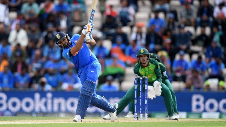 Rohit Sharma Completes 2000 Runs Against Australia in CWC 2019 Tie; Joins the Elite League of Viv Richards & Sachin Tendulkar