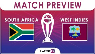 South Africa vs West Indies, ICC Cricket World Cup 2019 Match 15 Video Preview