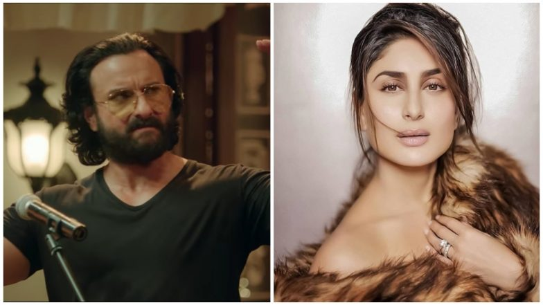 Kareena Kapoor Khan Refuses to Answer When Quizzed about Hubby Saif Ali Khan's TV Debut as A Narrator!
