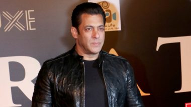 Salman Khan Raises Concern Over Climatic Conditions, 'Don't Use Plastic, Don't Be Plastic' Says the Dabangg Star