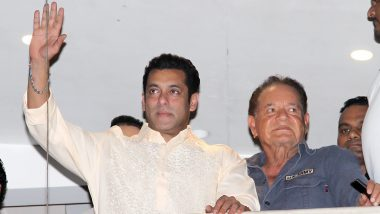 Salman Khan Waves at Fans on Eid Along With His Father and Mother