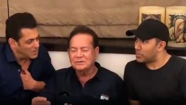 Salman Khan Shares a Video of Salim Khan Singing and Now We Know Where He Gets His Musical Genes!