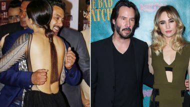 Keanu Reeves Goes Salman Khan Way, Avoids Touching Women in Photos