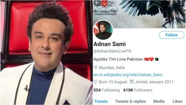 Adnan Sami's Twitter Account Gets Hacked, Turkish Group that Targeted Amitabh Bachchan Post Pro-Pakistan Messages Through the Singer's Account