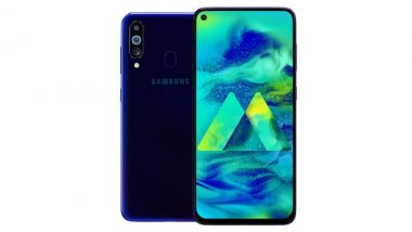 Samsung Galaxy M40 Full Specifications Leaked Online Ahead of June 11 India Launch