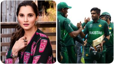 Sania Mirza Tweets After Pakistan Wins the CWC 2019 Game against New Zealand
