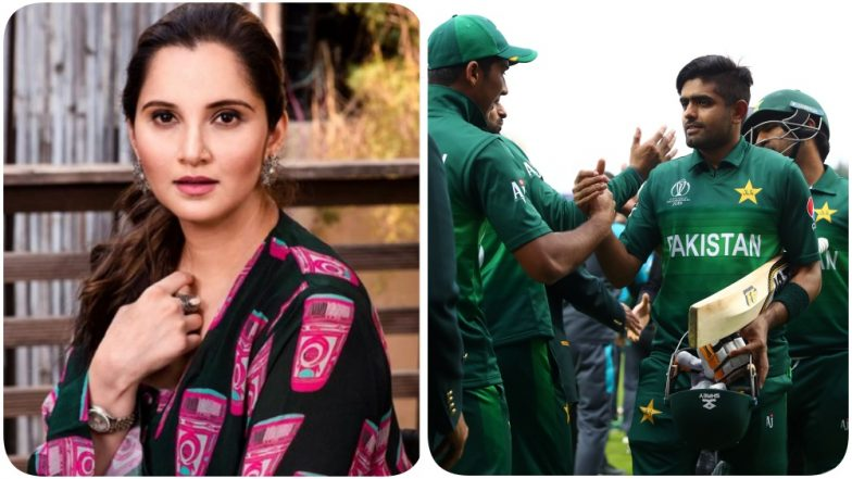 Sania Mirza Tweets After Pakistan Wins the CWC 2019 Game against New