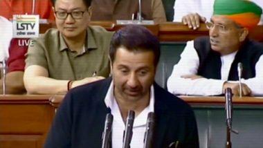 Sunny Deol Takes Oath As Lok Sabha MP Amid Round of Applause