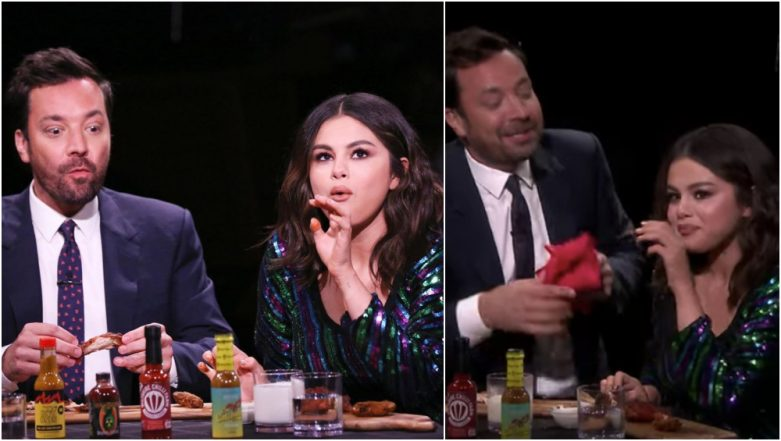 Who Made Selena Gomez Cry? Well, These Spicy Wings from the 'Hot Ones' Challenge on Jimmy Fallon Show are to Blame! (Watch Video)