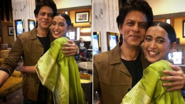 Article 15 Actor Sayani Gupta Who Missed a Chance to Click Pic With Shah Rukh Khan, Finally Gets Her Jabra 'Fan' Moment