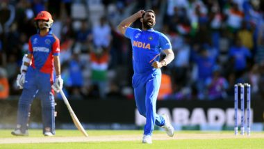 India vs Afghanistan Stat Highlights, ICC World Cup 2019 Match: Mohammed Shami Hat-Trick Hands IND 11-Run Win Over AFG