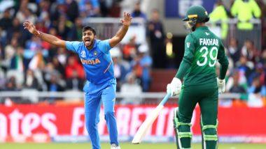 Vijay Shankar Gets Rid of Imam-Ul-Haq During IND vs PAK, CWC 2019 Match, Twitter Lauds the All-Rounder