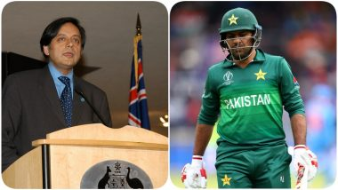 Sarfaraz Ahmed to Be Pakistan's PM by 2045? Shashi Tharoor Jokingly Predicts Courtesy Eerie Resemblances Between 2019 and 1992 WC!