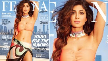 Shilpa Shetty Kundra Is Serious Fitness Goals on the Newest Cover of Femina