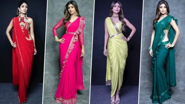 Shilpa Shetty Birthday Special: She's the Queen Of Unusual Drapes and There's No One Who Nails it as Well as Her