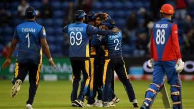 AFG vs SL, ICC CWC 2019 Stat Highlights: Sri Lanka Afghanistan by 34 Runs in the Low-Scoring Tie