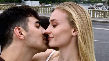 Sophie Turner and Joe Jonas Are About to Kiss in Paris and This Still Shouts Love Is in the Air – (View Pic)