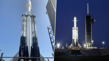 SpaceX Falcon Heavy Rocket Launched With 24 Satellites, Watch Video of World's Most Powerful Launch Vehicle