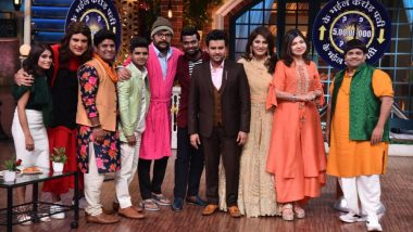 The Kapil Sharma Show: Sony TV's Superstar Singer Judges Alka Yagnik, Himesh Reshammiya and Javed Ali Add a Musical Tadka To The Show!