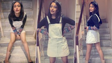 Sanjivani 2 Actress Surbhi Chandna Styles Up Her Monsoon Wardrobe With Gumboots (View Pics)