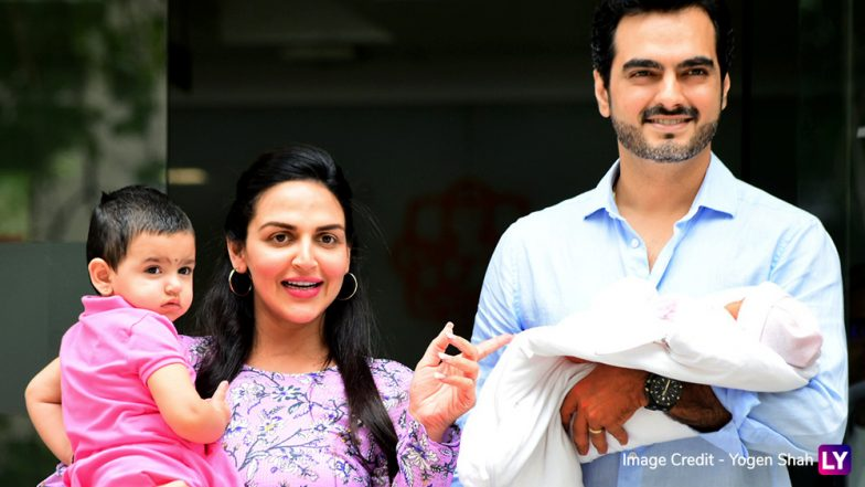 Esha Deol and Hubby Bharat Takhtani Take Their Newborn Daughter, Miraya, Home (View Pics)
