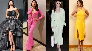 Alia Bhatt, Hina Khan and Janhvi Kapoor Brighten Up Our Weekend with Their Style Offerings of This Week (View Pics)
