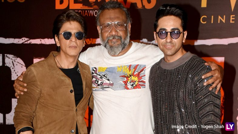 Article 15 Movie: Shah Rukh Khan Attends the Special Screening of Ayushmann Khurrana Starrer (View Pics)