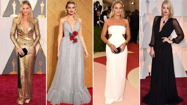 Margot Robbie Birthday Special: The Suicide Squad Actress Believes in Making Ordinary Outfits Look so Extraordinary (View Pics)