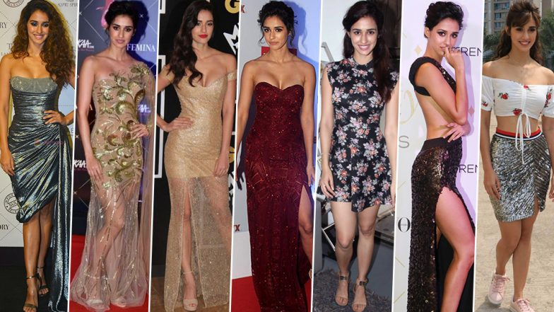 Disha Patani Birthday Special: The Bharat Actress Loves her Sheer Attires, Bold Necklines and High Slits (View Pics)