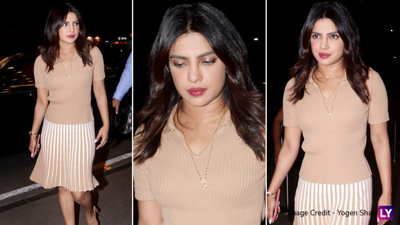 Priyanka Chopra Leaves for Prague to Join Sophie Turner at her Bachelorette? (View Airport Pics)