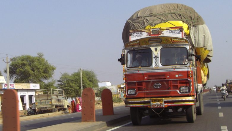 Motor Vehicles Amendment Act 2019: Rs 1,41,700 Challan Issued to Truck Owner for Overloading, Highest Ever Under New MV Act