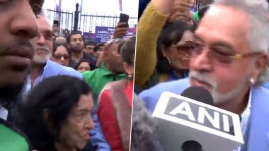 Vijay Mallya Says 'Ensuring My Mother Doesn't Get Hurt' As Crowd Chants 'Chor, Chor' Outside The Oval After India-Australia Match, Watch Video