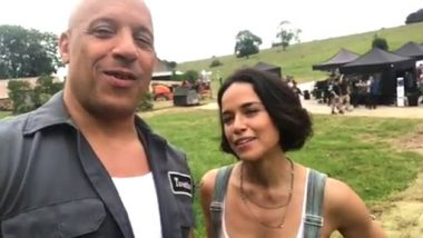Fast and the Furious 9 Shoot Begins, Vin Diesel and Michelle Rodriguez Announce in This Video
