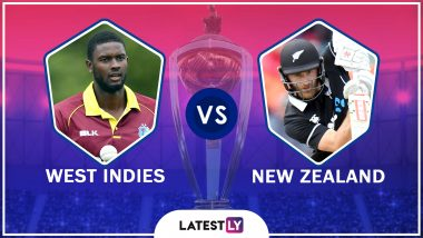 West Indies vs New Zealand Highlights, ICC Cricket World Cup 2019: NZ Beat WI by 5 Runs, Move to Top of Points Table