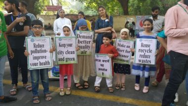 World Environment Day 2019: 'Planet Nahi Toh Future Nahi', Children Raise Awareness About Climate Change
