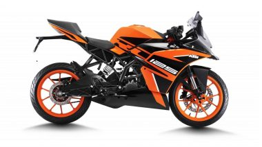 KTM RC 125 ABS Launched in India at Rs 1.47 Lakh; Deliveries To Commence By End of This Month